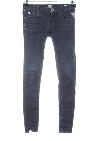Replay Slim Jeans schwarz Casual-Look