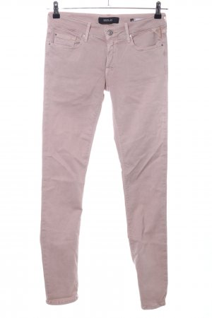 Replay Jeans slim fit rosa stile casual