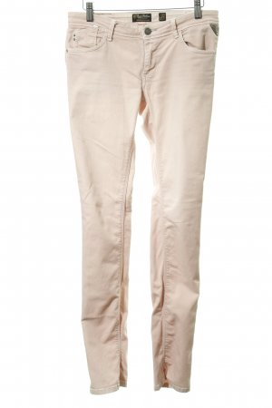 Replay Jeans slim fit rosa antico stile casual