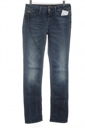 Replay Slim Jeans blau Casual-Look