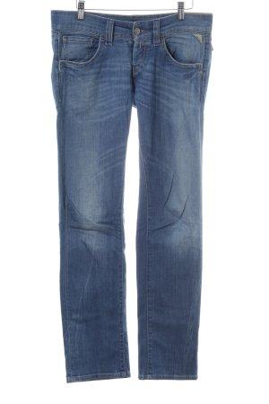 Replay Jeans slim bleu style décontracté