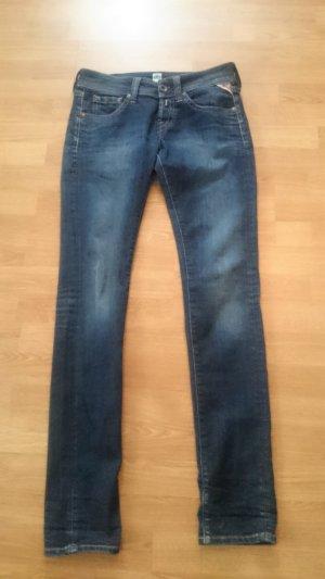 Replay Slim Jeans, Damen Skinny Jeans Hose, Jeanshose, Markenjeans, Denim