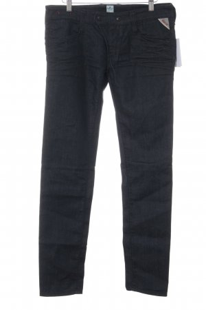 Replay Slim Jeans dunkelblau Casual-Look