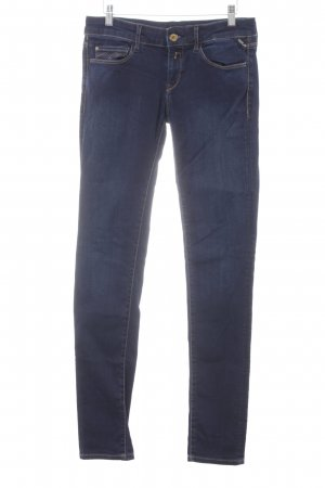 Replay Slim Jeans dunkelblau Jeans-Optik