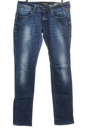 Replay Slim Jeans dunkelblau Jeans-Optik