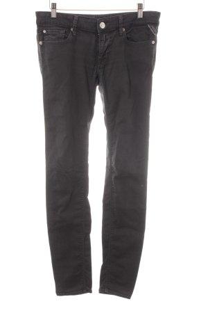 Replay Slim Jeans dunkelgrau schlichter Stil