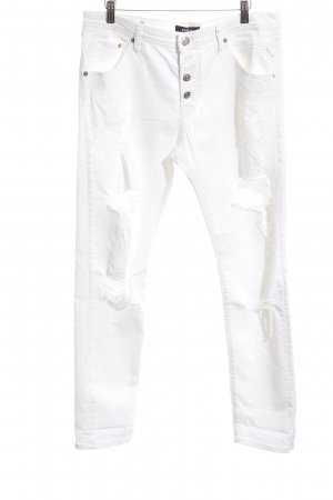 Replay Slim Jeans white casual look