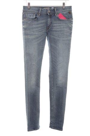 Replay Slim Jeans hellblau Casual-Look