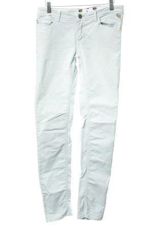 Replay Jeans slim gris clair style décontracté