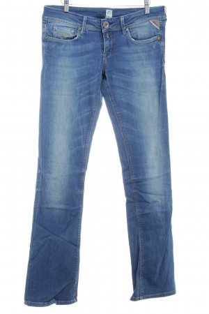 Replay Jeans slim fit azzurro stile casual