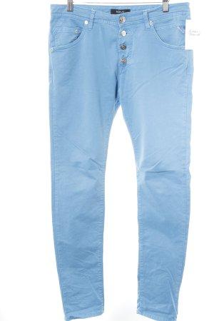 Replay Slim Jeans neonblau Casual-Look
