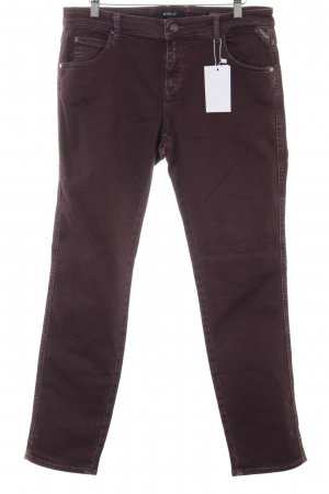 Replay Slim Jeans purpur Casual-Look
