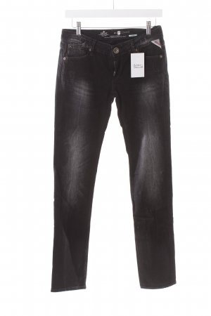 Replay Slim Jeans schwarz Casual-Look