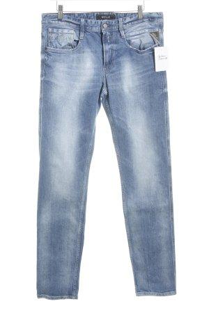 Replay Slim Jeans stahlblau Casual-Look