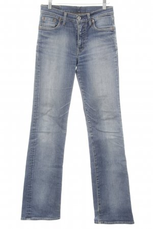 Replay Slim Jeans stahlblau Vintage-Look