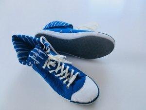 Replay Sneaker stringata bianco-blu