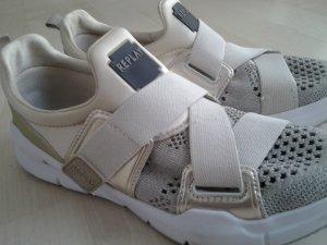 Replay Sneaker con strappi beige-oro