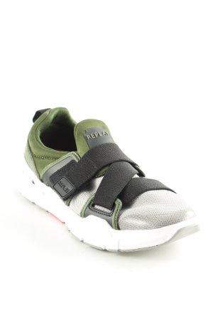 Replay Sneaker Klettverschluss abstraktes Muster sportlicher Stil