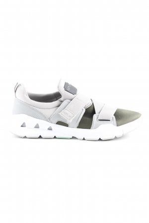 Replay Velcro Sneakers light grey-khaki casual look