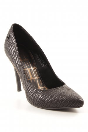 Replay Spitz-Pumps schwarz Party-Look