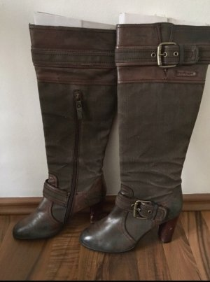 Replay Stiefel Stoff/Leder Mix