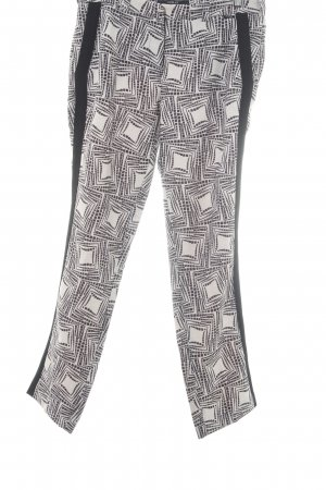 Replay Stoffhose abstrakter Druck Casual-Look