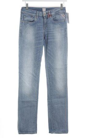 Replay Straight-Leg Jeans blassblau-blau Casual-Look
