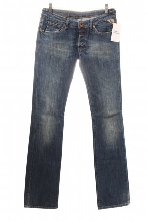 Replay Straight-Leg Jeans blau