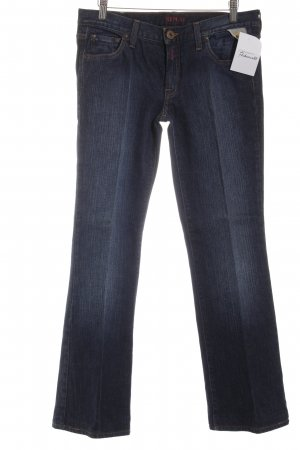 Replay Straight-Leg Jeans blau Casual-Look