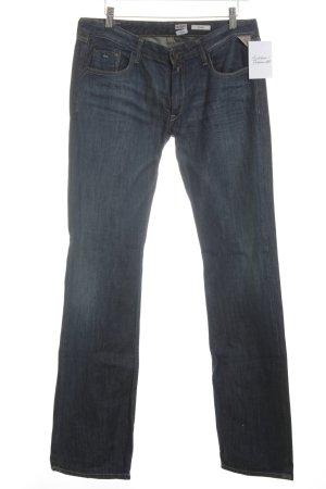 Replay Straight-Leg Jeans blau-dunkelblau Casual-Look