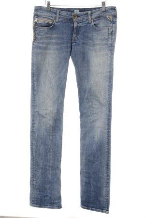 Replay Straight-Leg Jeans blau-hellblau Casual-Look