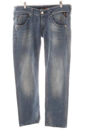 Replay Straight-Leg Jeans blau-stahlblau Casual-Look