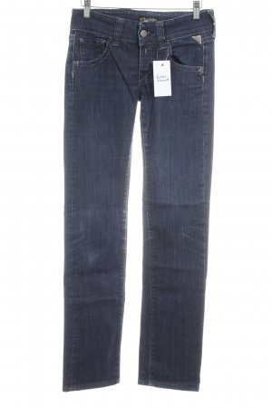 Replay Straight-Leg Jeans dunkelblau Casual-Look
