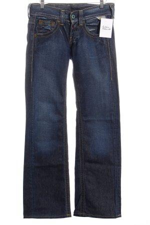 Replay Straight-Leg Jeans dunkelblau Casual-Look