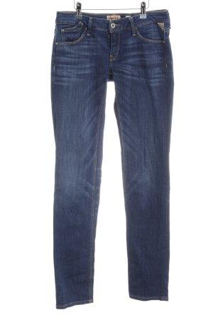 Replay Straight-Leg Jeans dunkelblau-stahlblau Casual-Look