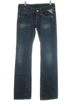 Replay Jeans coupe-droite bleu foncé style seconde main