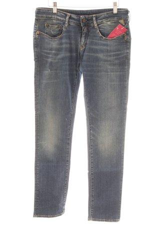 Replay Straight-Leg Jeans graublau-blassblau schlichter Stil