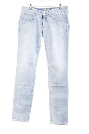 Replay Straight-Leg Jeans hellblau Casual-Look