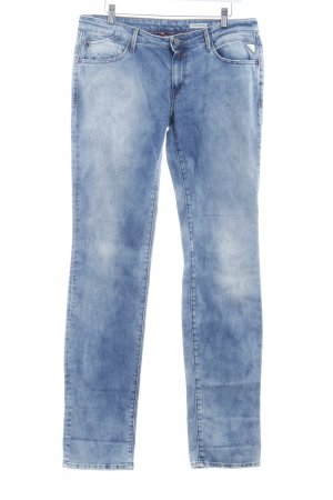 Replay Straight-Leg Jeans himmelblau Casual-Look