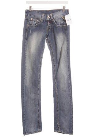 Replay Straight-Leg Jeans kornblumenblau Casual-Look