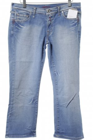 Replay Straight-Leg Jeans kornblumenblau-himmelblau Casual-Look