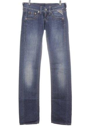 Replay Jeans a gamba dritta multicolore stile casual