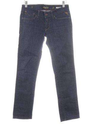 Replay Straight-Leg Jeans mehrfarbig schlichter Stil
