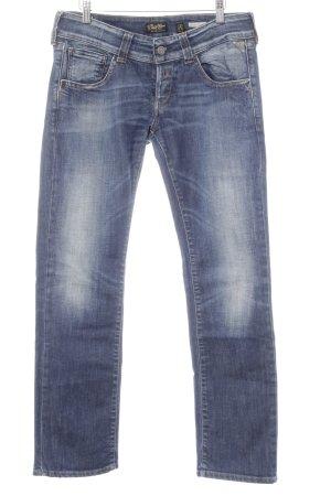 Replay Jeans a gamba dritta multicolore stile semplice