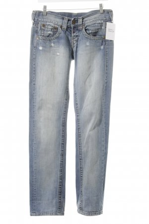 Replay Straight-Leg Jeans mehrfarbig Street-Fashion-Look