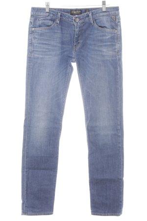 "Replay Straight-Leg Jeans ""Rockxanne"" blau"
