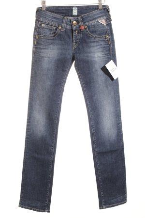 Replay Straight-Leg Jeans rot-blau Jeans-Optik