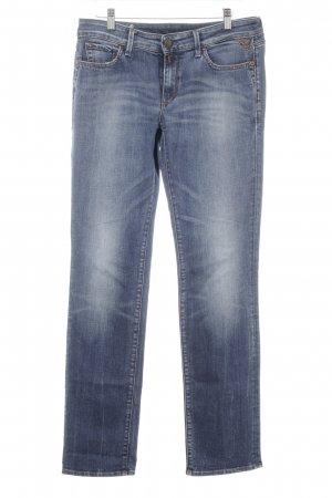 Replay Straight Leg Jeans steel blue casual look