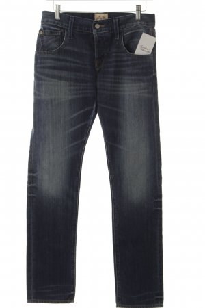 Replay Straight-Leg Jeans stahlblau Casual-Look
