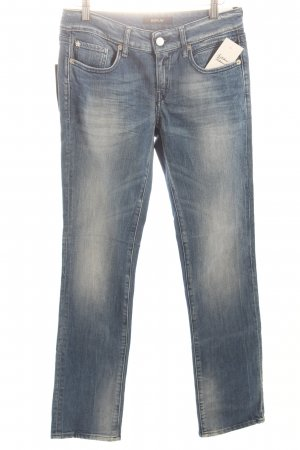 "Replay Straight-Leg Jeans ""VICKY"" stahlblau"